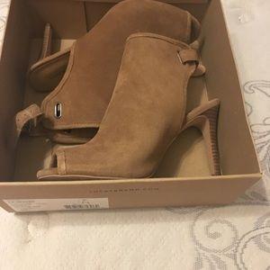 Lucky Brand peep toe bootie